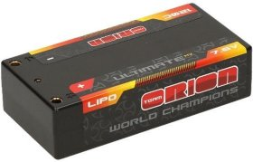 Аккумулятор Team Orion Batteries Ultimate Graphene HV Lipo 7.6 V (2s) 5800mAh 120C Hard Case Tubes - ORI14503