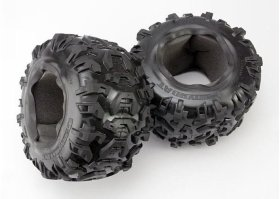 Покрышка колеса Tires, Canyon AT 3.8'' (2)/ foam inserts (2) - TRA5670