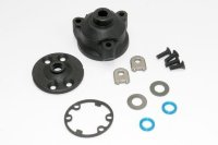 Housing, center differential/ x-ring gaskets (2)/ ring gear gasket/ bushings (2)/ 5x10x0.5 TW (2)/ C
