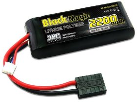 Аккумулятор Black Magic LiPo 7.4V 2S 30C 2200 mAh - BM-A30-2202TR