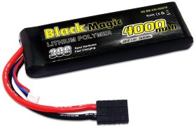 Аккумулятор Black Magic LiPo 7.4V 2S 30C 4000 mAh - BM-A30-4002TR