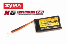 Аккумулятор Black Magic LiPo 3.7V 1S 35C 700 mAh - BM-F35-0701MOL