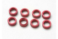Spacer, pushrod (aluminum, red) (use with 5318 or 5318X pushrod and 5358 progressive 2 rockers) (8)
