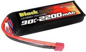 Аккумулятор Black Magic Li-Po 11.1V (3S) 2200mAh 90C - BM-F90-2203D