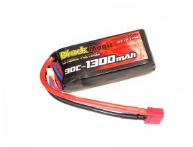 Аккумулятор Black Magic Li-Po 11.1V (3S) 1300mAh 90C - BM-F90-1303D