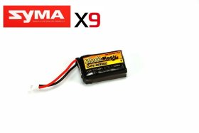 Аккумулятор для SYMA X9 Black Magic LiPo 3,7В(1S) 500mAh 20C Soft Case Molex plug (for Syma X9) - BM-F20-0501WLK