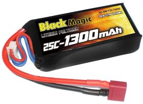 Аккумулятор Black Magic 11.1V 3S 25C 1300 mAh - BM-F25-1303D