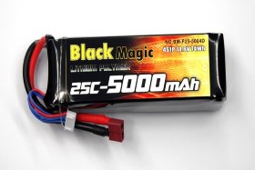 Аккумулятор Black Magic 14.8V 4S 25C 5000 mAh - BM-F25-5004D