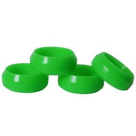 Diamond cut 0 Degree drift tyre green 26mm (4pcs)