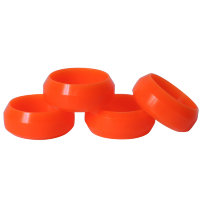 Diamond cut 0 Degree drift tyre orange 26mm (4pcs)