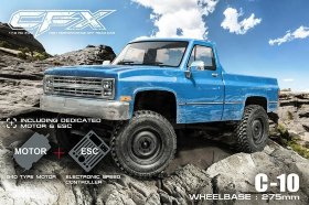 Радиоуправляемая трофи MST CFX High Performance Off-Road Car KIT 4WD масштаб 1:10 - MST-532164