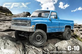 Радиоуправляемая трофи CFX High Performance Off-Road Car KIT (w|o ESC&motor, C-10) 4WD масштаб 1:10 - MST-532165
