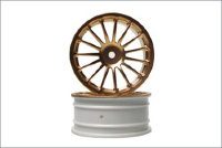 Wheel(15-Spoke/Gold/24mm/2Pcs)