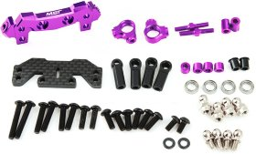 XXX-D IFS Alum. conversion set (purple) - MST-210497P