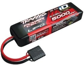 Аккумулятор 5000mAh 11.1v 3-Cell 25C LiPo Battery - TRA2872X
