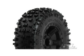 "Колеса в сборе Трак 1/10 - Badlands 2.8"" All Terrain Tires + Desperado Black Wheels"