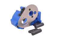 Traxxas Gearbox Housing and Mounts - Blue