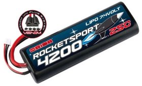 Аккумулятор Team Orion Rocket Sport LiPo 7.4V 2S 25C 4200 mAh - ORI14171