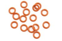 Silicone O-Ring(P6/Orange)15Pcs