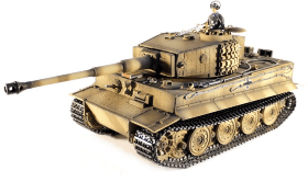 Радиоуправляемый танк Taigen German Tiger 1 Metal Edition Late Version масштаб 1:16 2.4G - TG3818-1D