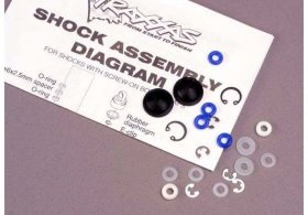 Ремкомплект TRAXXAS Rebuild kit, Ultra shocks - TRA2362