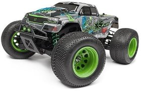 Радиоуправляемый монстр HPI SAVAGE XS FLUX Vaugn Gitting JR 4WD RTR масштаб 1:12 2.4G - HPI-115967