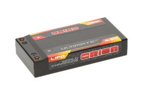 Ultimate Graphene HV Lipo 3.8 В (1s) 7600mAh 120C Hard Case Tubes